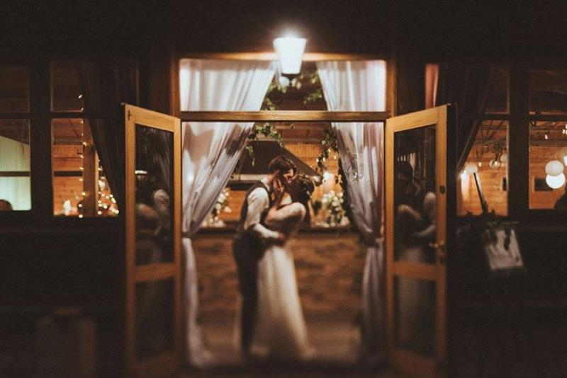 para młoda dekoracja wejścia dekoracje weselne boho