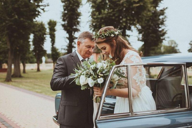 wianek bukiet do ślubu