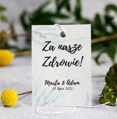 zawieszka-wodka-weselna-kalka-greenery