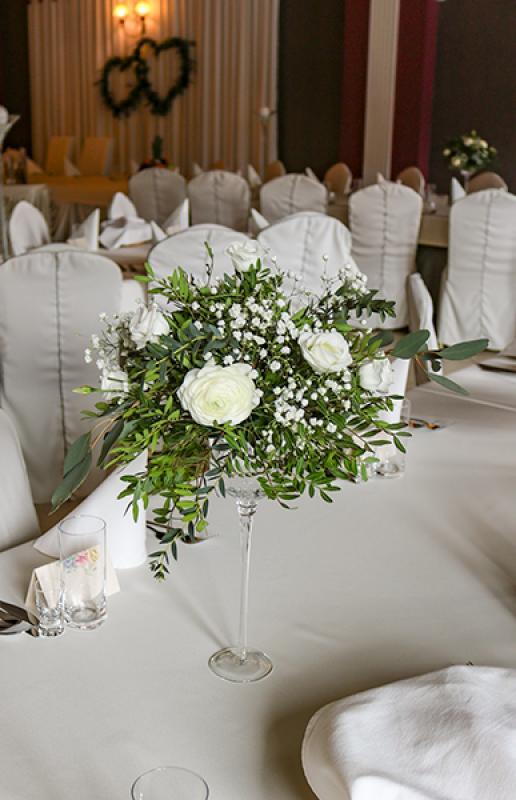 dekoracja stołu wesele warszawa greenery