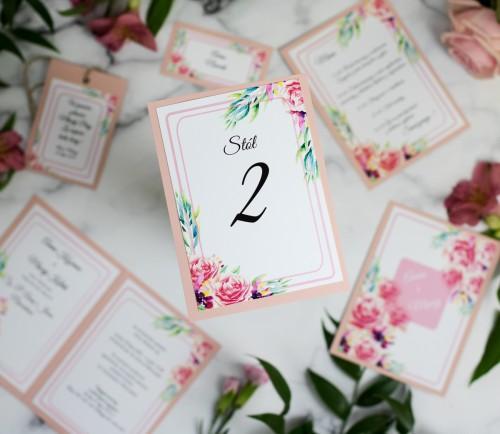 numer-stolu-roza-koralowa