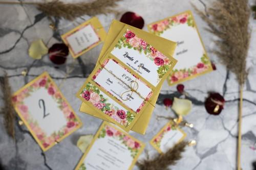 zaproszenie-slub-kwiaty-zloto