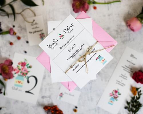 kwiaty-butelka-zaproszenie-slubne