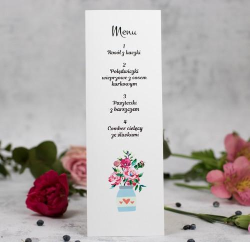 menu-weselne-butelka-kwiaty