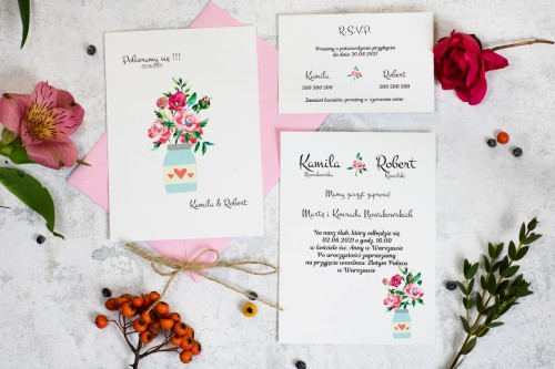 zaproszenie-slub-kwiaty-bytelka