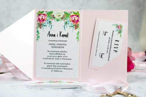 zaproszenie-slubne-rozowe-kwiaty-perlowy