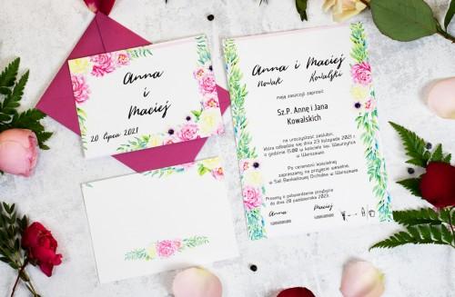 letnie-kwiaty-zaproszenie-slub