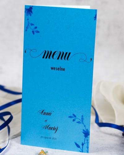 menu-wesele-niebieskie-kwiaty