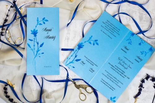 zaproszenie-slubne-niebieskie-kwiaty