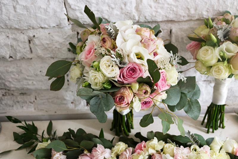 bukiet ślubny warszawa róże mrozy