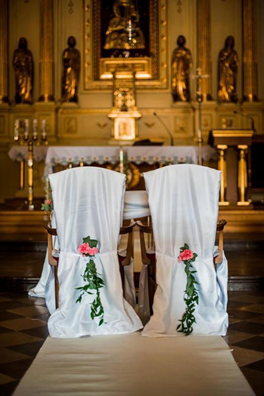 dekoracja krzeseł młodych ruskus