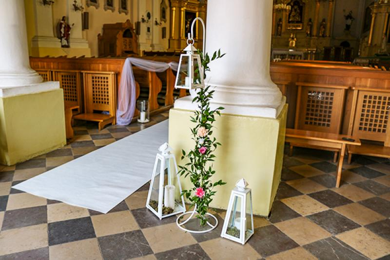 latarnie ślub dekoracja warszawaa