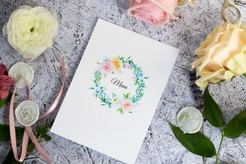 menu-weselne-pastelowy-wianek