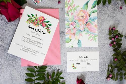 zaproszenie-slub-magnolia-peonia