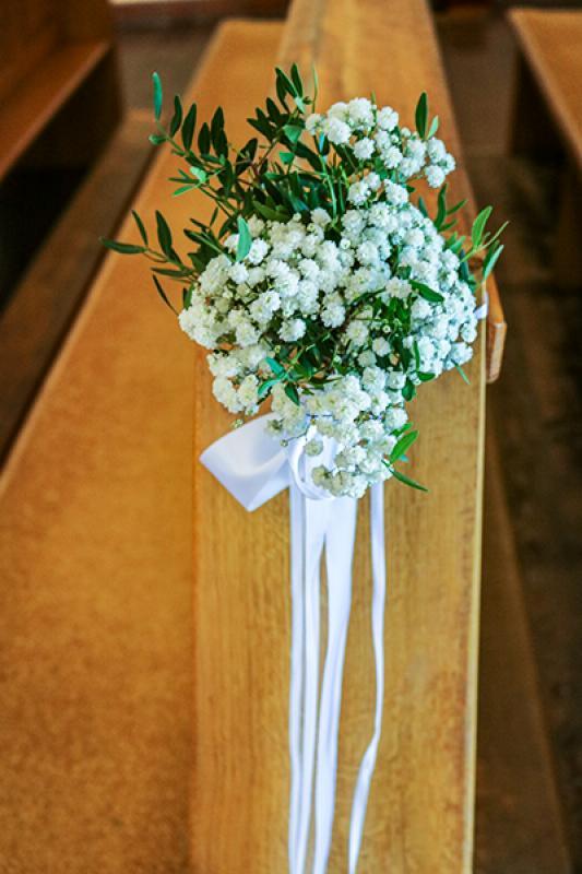 dekoracja ławki ślub warszawa