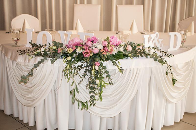 dekoracja ślubna warszawa peonie