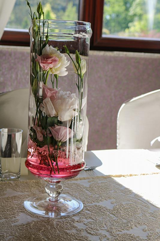 dekoracja stołu peonia warszawa