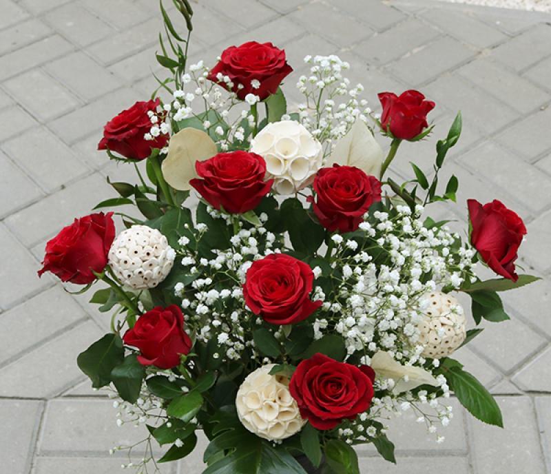 czerwone róże dla rodziców