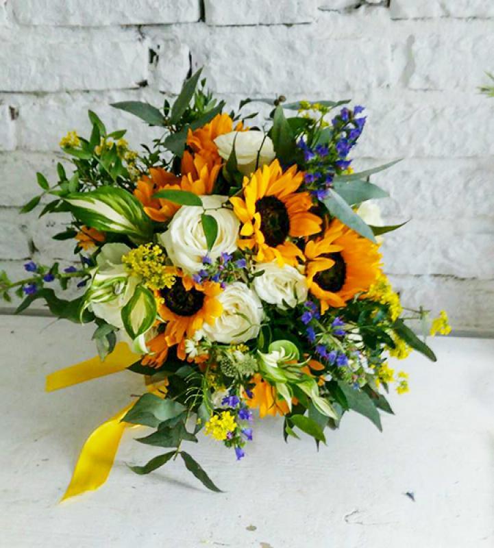 słoneczniki dla rodziców wesele warszawa