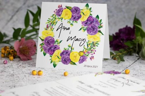 zaproszenie-na-slub-roze-fioletowe
