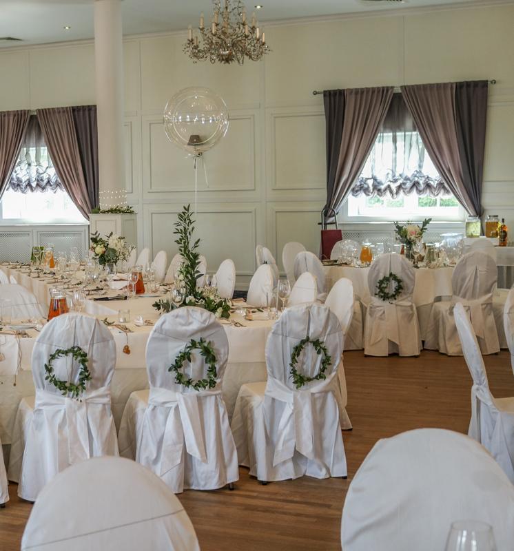 dekoracja sali weselnej warszawa różowe dekoracje weselne