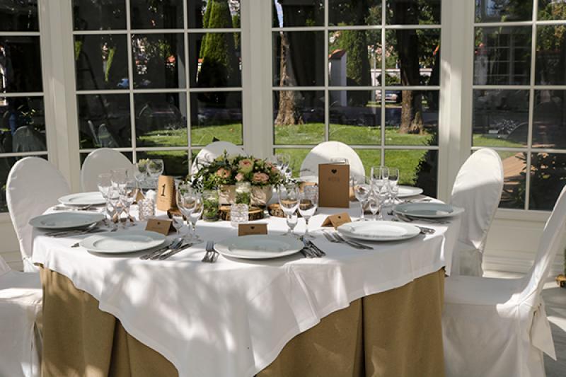 dekoracja stołu rustykalna elegancja