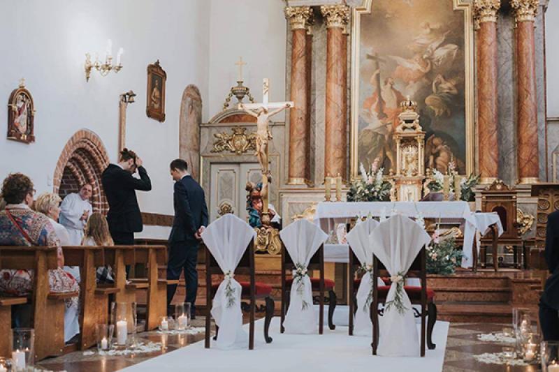 dekoracje ślubne Piaseczno kościół