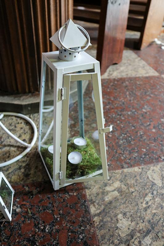 rustykalne latarnie mech