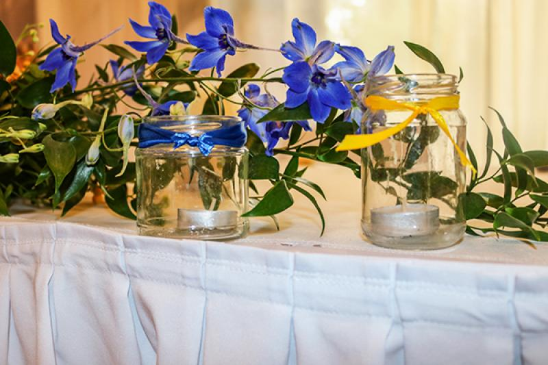 słoiki dekoracje ślubne warszawa