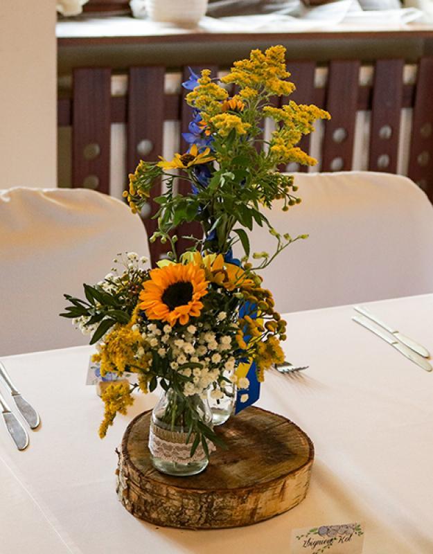 słoneczniki na ślub warszawa