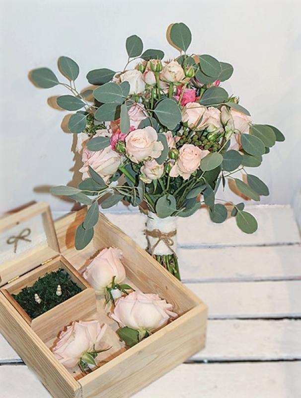 bukiet ślubny warszawa róża gałązkowa