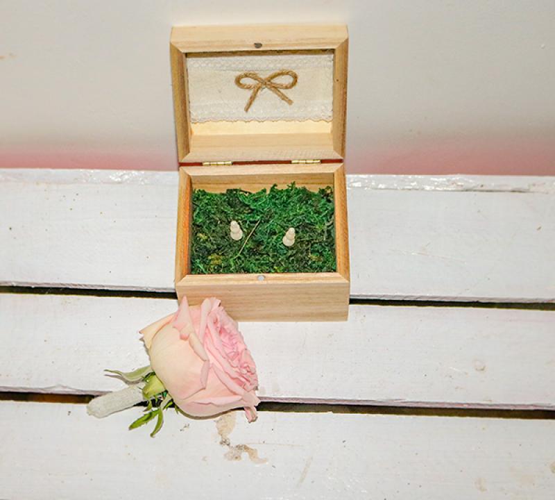 pudełko na obrączki warszawa butonierka