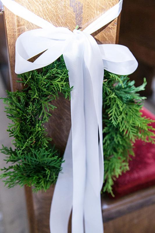 dekoracja ławki wianek warszawa