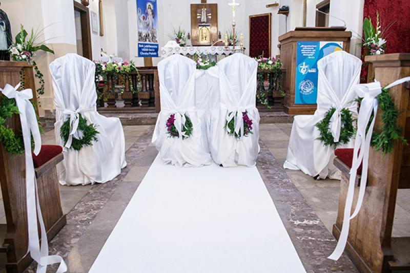 krzesła młodych ślub warszawa