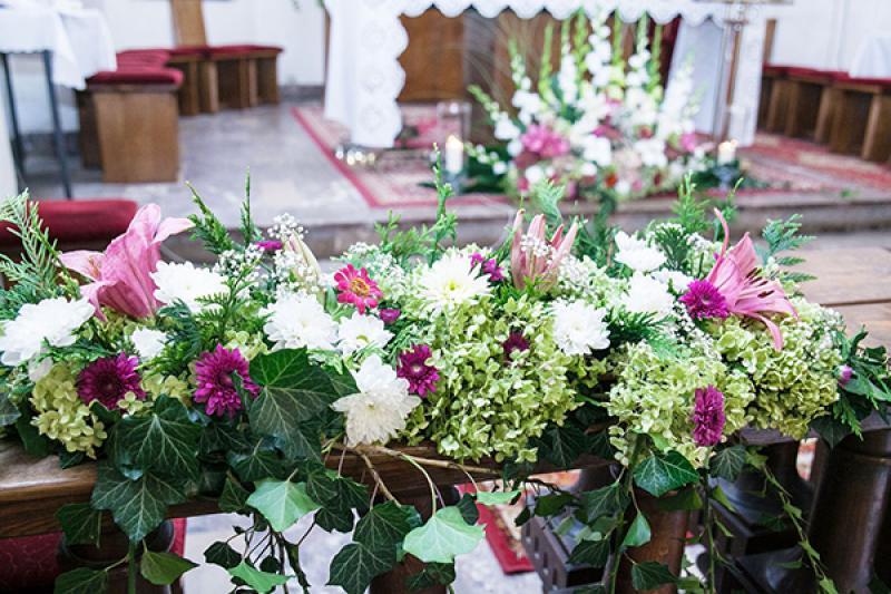 kwiaty do kościoła ślub warszawa