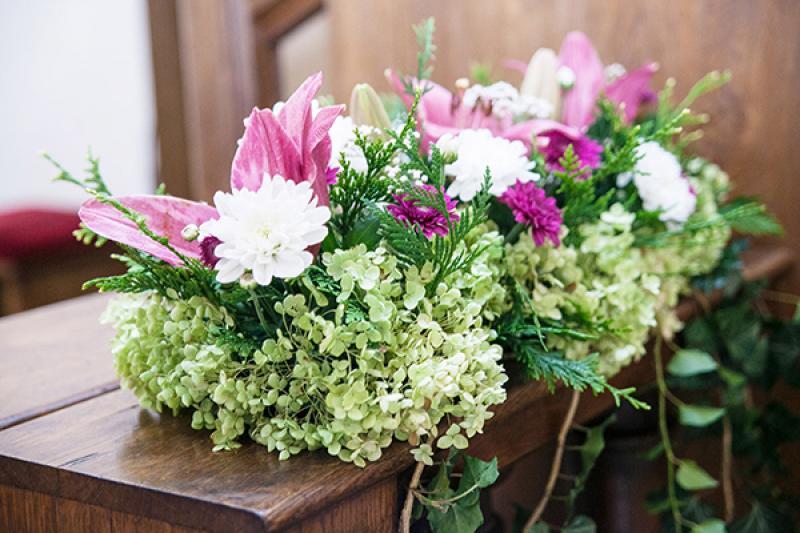 kwiaty kościół warszawa