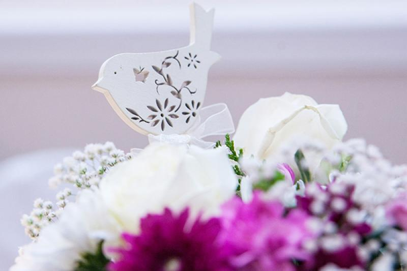 ptaszek kwiaty wesele warszawa