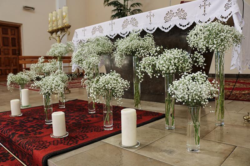 dekoracje kościoła warszawa gipsówka