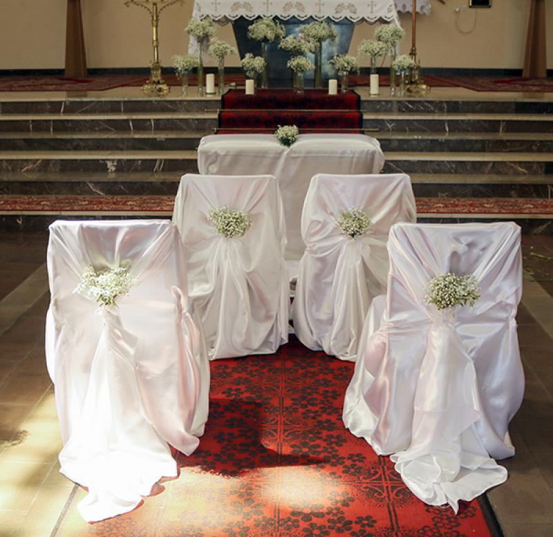 gipsówka dekoracja kościoła warszawa