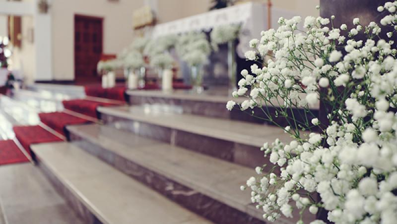 gipsówka na ślub warszawa kościół