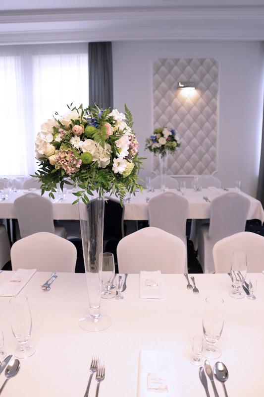 hortensja dekoracja wesele