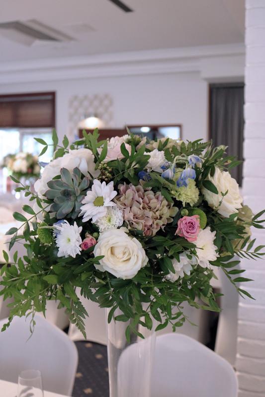 kwiaty na wesele warszawa
