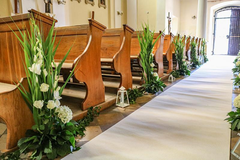 dekoracje ślubne warszawa Biało-zielony ślub warszawa