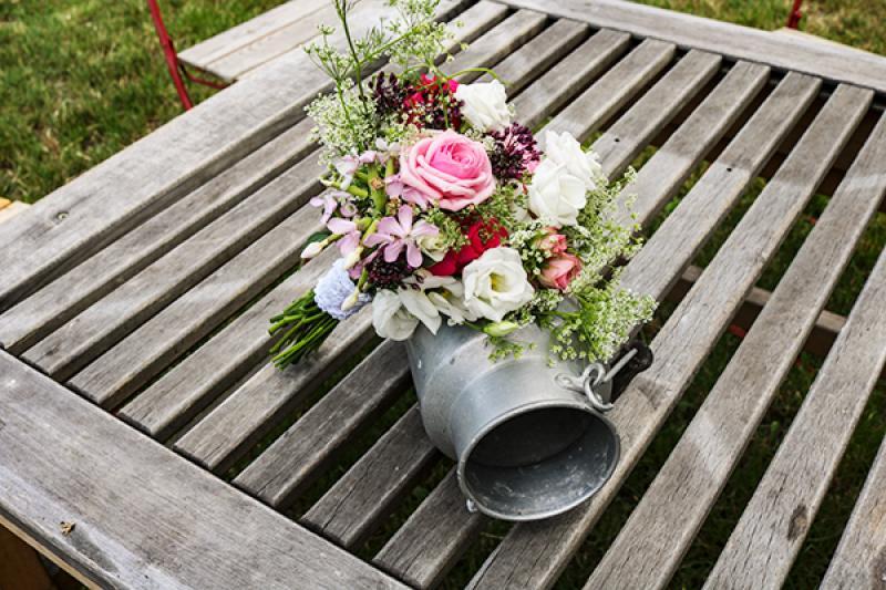 bukiet ślubny warszawa  polne kwiaty