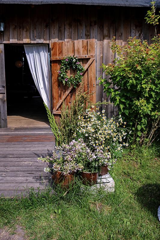 dekoracja drzwi wianek warszawa