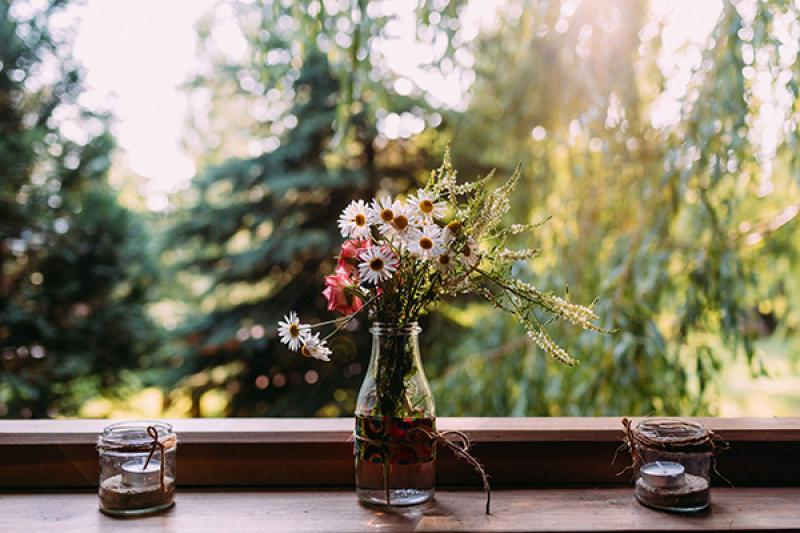 dekoracje rustykalny ślub plenerowy  dekoracja weselna rustykalna warszawa