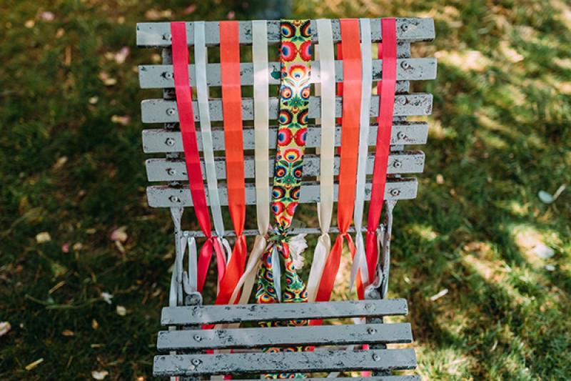 krzesło pary młodej ślub plener warszawa