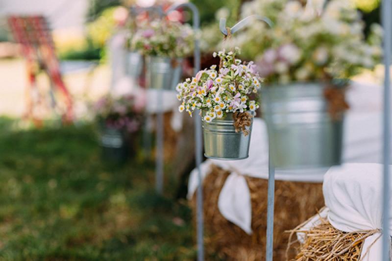 kwiaty ślub plenerowy warszawa