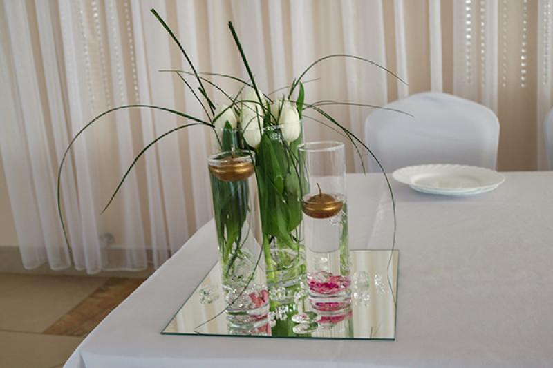 dekoracja na sale weselna warszawa tulipany