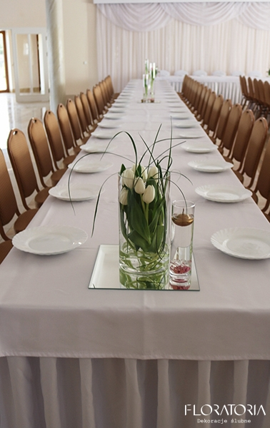 Wiosenny ślub Tulipan Frezja Idealna Para Zapraszamy